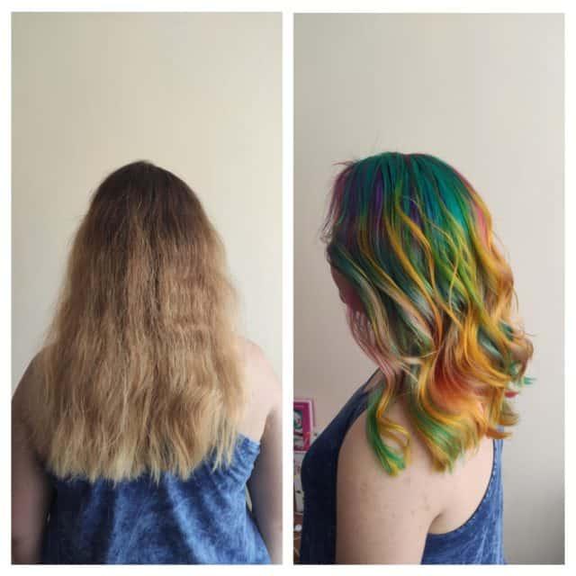 Cięcia i koloryzacje